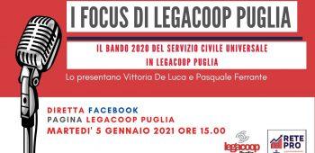 I Focus di Legacoop Puglia 05 01 2021