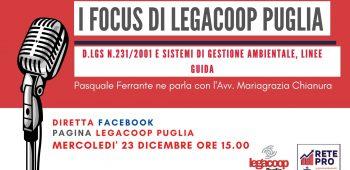 I Focus di Legacoop Puglia 2312